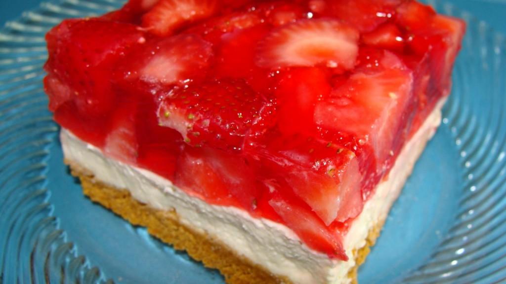 Strawberry Jello Squares